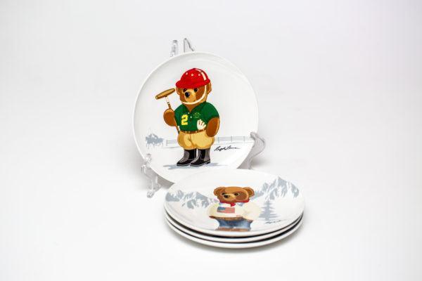 Десертная тарелка Haven Bear (набор из 4 шт) 680749953001