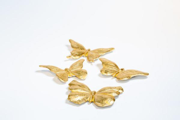 Керамические бабочки (набор из 4 шт) 1519600192